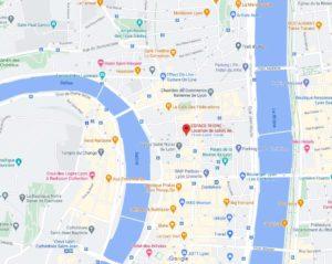 ESPACE RHONE GoogleMaps Salles de réunions Quali France Lyon Facilities Market Research Focus Group FocusVision